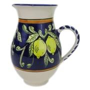 Le Souk Ceramique Citronique Stoneware 68 oz. Pitcher
