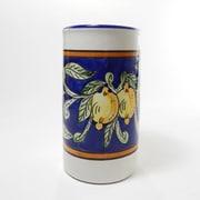 Le Souk Ceramique Citronique Stoneware Utensil/Wine Holder