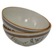 Le Souk Ceramique Deep Stoneware Serving Bowl (Set of 2)