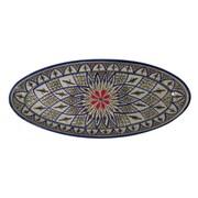 Le Souk Ceramique Tabarka Stoneware Oval Platter