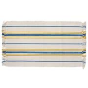 HFLT Weston Hand-Woven Blue/Yellow Area Rug