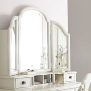 Wendy Bellissimo by LC Kids Inspirations by Wendy Bellissimo Crowned Top Mirror; Seashell White
