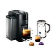 Nespresso Evoluo Coffee & Espresso Maker w/ Aeroccino + Milk Frother; Black