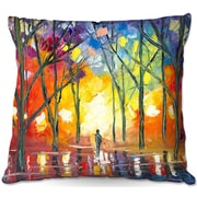 DiaNocheDesigns Jessilyn Park Reflections of the Soul Throw Pillow; 18'' H x 18'' W x 5'' D