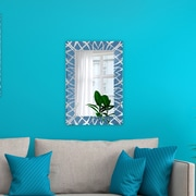 Artistic Products Breeze Point Wall Mirror; 36'' H x 24'' W x 0.19'' D