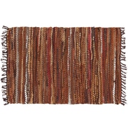 HFLT Tucson Hand-Woven Brown Area Rug; 2' x 3'