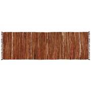 HFLT Tucson Hand-Woven Brown Area Rug; Runner 2.5' x 8'