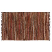 HFLT Tucson Hand-Woven Brown Area Rug; 3' 8'' x 6'