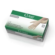 Curad Stretch Vinyl Exam Gloves - CA Only - Small - 150/Box (6CUR9224)