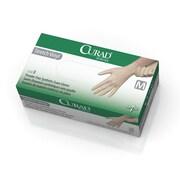 Curad Stretch Vinyl Exam Gloves - CA Only - Medium - 150/Box (6CUR9225)