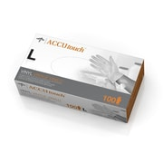 Medline Accutouch Synthetic Exam Gloves - CA Only - Large - 100/Box (6MDS192076)