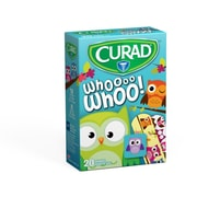 Curad Assorted Owl Bandages 20ct (CUR00004RB)