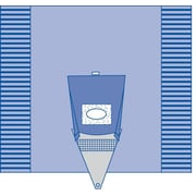 "Medline Sterile Craniotomy Surgical Drape with Pouch -  100""x104"" (DYNJP10001)"