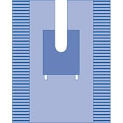 Medline Orthopedic Split Surgical Drape - Sterile - Disposable (DYNJP8301)