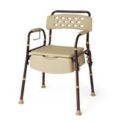 Medline Elements Bedside Commode with Microban (MDS89664ELMB)