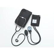 Medline Compli-Mates Dual Head Aneroid Sphygmomanometer Combination Kits Adult (MDS9120)