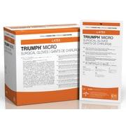 Medline Triumph Micro Latex Powder-Free Surgical Gloves - 8.0 - 50 Pair/Box (MSG2380)