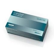 Medline Cedar Vinyl Synthetic Exam Gloves - Economy - Medium - 150/Box (MSV512P)