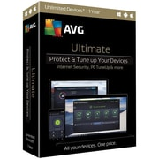 AVG® Ultimate 2017 Software, Unlimited Devices, Windows/Mac/Android (ULT17T12EN)