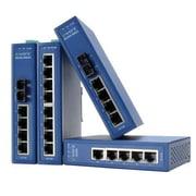 B+B Smartworx® EWORX SE200 Series SE205-MMSC 5-Port Multi Mode Unmanaged Ethernet Switch