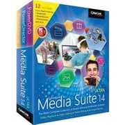 Cyberlink Media Suite v.14.0 Ultra Image Editing Software, Windows, DVD (MES-EE00-RPU0-01)