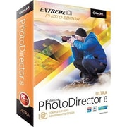 Cyberlink PhotoDirector v.8.0 Ultra Image Editing Software, Windows/Mac, DVD (PTD-E800-RPU0-01)