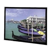 "Da-Lite® Perm 78688 Fixed Frame Wall/Ceiling Mount Projector Screen, 106"""