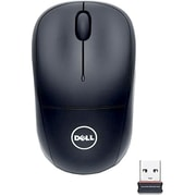 Dell™ 332-0249 1000 dpi Wireless Optical Mouse, Black/Gray