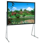 Draper® Ultimate 241011 Manual Folding Free Standing Mount Portable Projector Screen, 173""