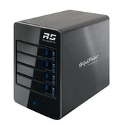 HighPoint RocketStor Tower SAS/SATA Thunderbolt 2 RAID Hard Drive Enclosure, Black (RS6314A)
