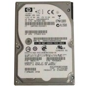 HP® DG0300BAMYR 300GB SAS 3 Gbps Hot-Plug Internal Hard Drive, Black/Silver