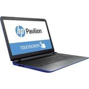 "HP® Refurbished Pavilion 17-G100 17.3"" Touch Notebook PC, LCD, Intel Core i3-6100U, 1TB, 8GB, Win 10 Home, Cobalt Blue"
