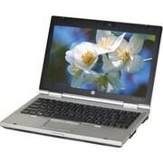 "HP® Refurbished EliteBook 2560p 12.5"" Notebook PC, LCD, Intel Core i5-2520M, 250GB, 4GB, Win 10 Pro, Black/Silver"