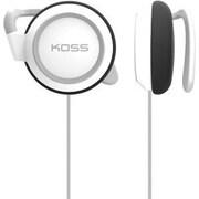 Koss® KSC21W Stereo Corded Over-the-Ear Earphone, White