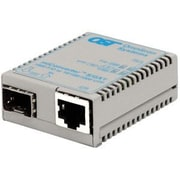 Omnitron miConverter S/GXT 1639-0-1 10/100/1000Base-T Copper to 1000Base-X Fiber Media Converter