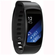 Samsung Gear Fit2 SM-R3600DANXAR Tizen OS Small Smart Fitness Band with Built-in GPS, Black