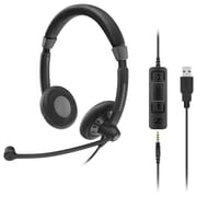 Sennheiser Culture Plus Mobile Wired On-Ear Stereo Headset (SC 75 USB MS)