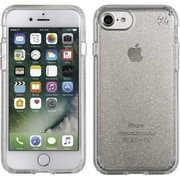 speck® Presidio Case for iPhone 7, Clear/Gold Glitter (79989-5636)