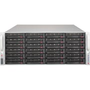 Supermicro® SuperChassis 4U JBOD Storage Chassis, Black (846BE1C-R1K03JBOD)