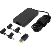 Targus® Black 65W AC/DC Ultra-Slim Universal Charger for Asus/HP/Lenovo Laptops (APA52US)
