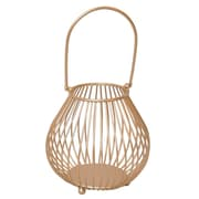 Cheungs Metal Storage Basket w/ Arched Handle; Small