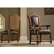 EasternLegends Burgundy Arm Chair (Set of 2)