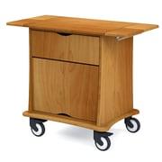 Medviron Maternity Delivery Cart, Honey Maple (M70-0000-K448)