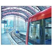 DesignArt 'Departing London Subway Train' 3 Piece Photographic Print on Canvas Set