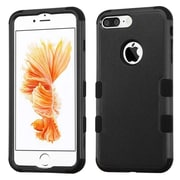 Insten Tuff Hybrid 3-Layer Shock-absorbing Case For Apple iPhone 7 Plus - Black