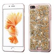 Insten Rose Gold Mini Crystals Rhinestones Desire Hard Case Back Cover for Apple iPhone 7 Plus