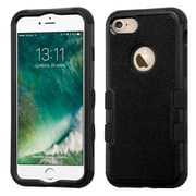 Insten Tuff Hybrid 3-Layer Shock-absorbing Case For Apple iPhone 7 - Black