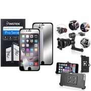 """Insten Mirror Screen Protector Film Cover For Apple iPhone 6 Plus 5.5"""" (with Car Air Vent Phone Holder)"""