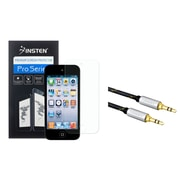 Insten Anti-Glare Screen Protector For Ipod Touch 6 6G 6th / 5 5G 5th 5th 6 6th Gen (with 3.5mm Audio Extension Cord)