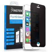 Insten Privacy Anti-spy Real Tempered Glass Screen Protector Film For Apple iPhone SE / 5 / 5S